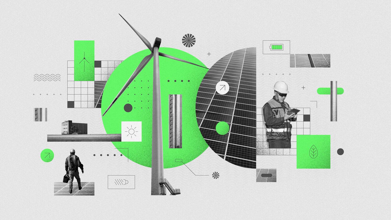 Saubere Energien bei Apple