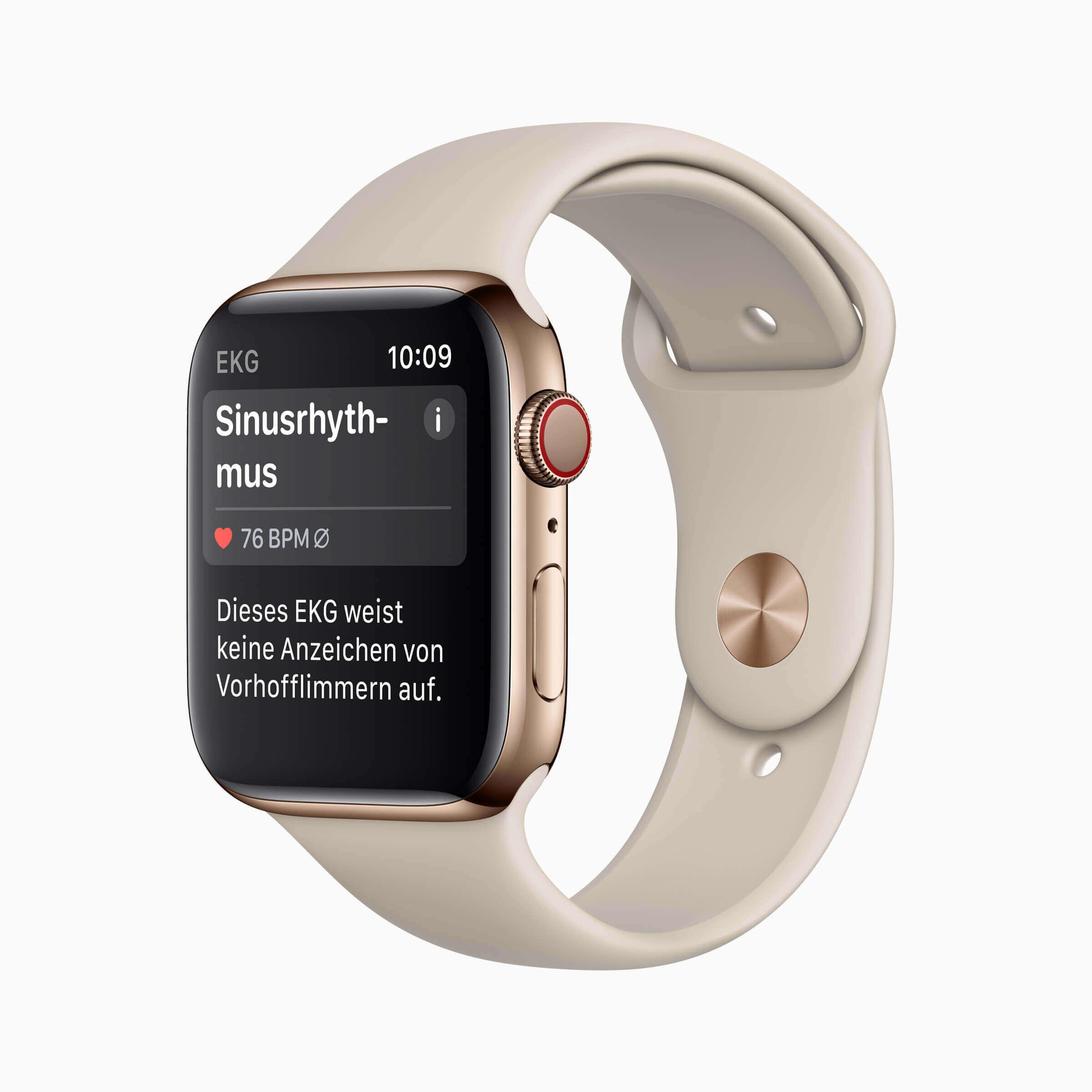 Apple Watch mit EKG