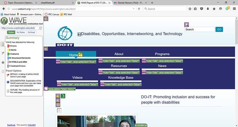 web accessibility initiative 2