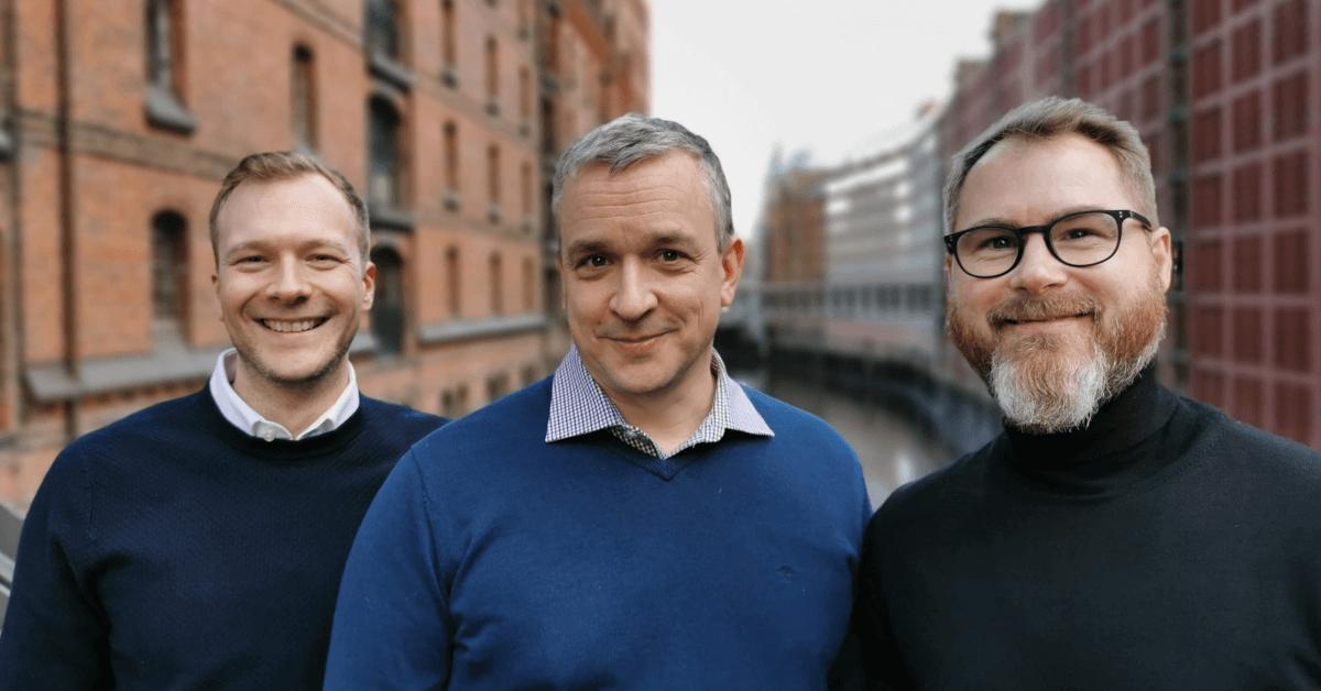 Gunnar Neumann (CCO), Tobias Irmer (CEO&CTO), Thorsten Schütte-Gravelaar (CEO) from Mercury Media Technology GmbH