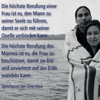 cherokee indianer bewusste liebesbeziehung