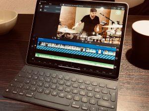 Videoschnitt mit dem iPad Pro – 4K Videos mit Lumafusion