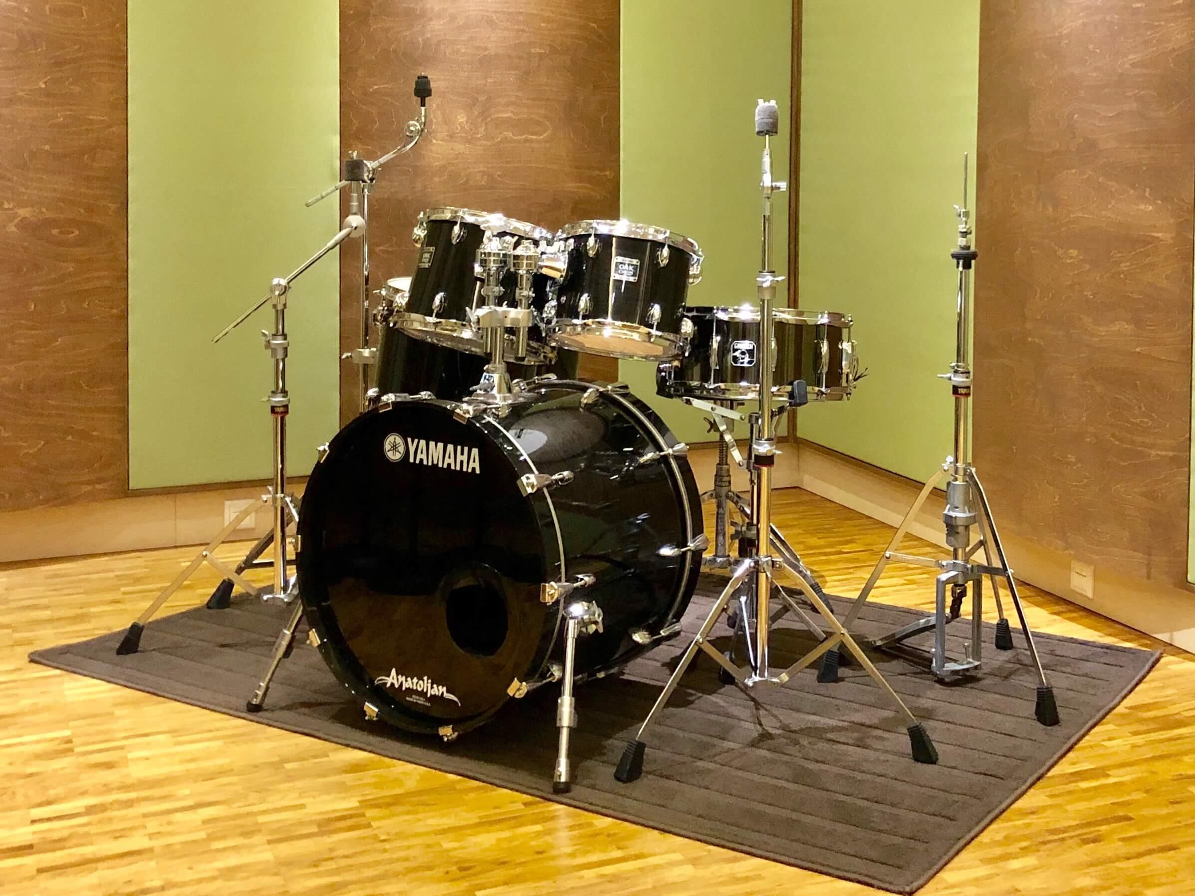 Instrumente im Tonstudio – Unser neues Schlagzeug