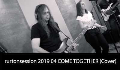 rurtonsession 2019 04 COME TOGETHER (Cover)