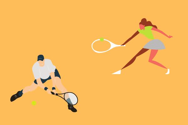Wie du in 3 simplen Schritten eine fast perfekte Vorhand spielst