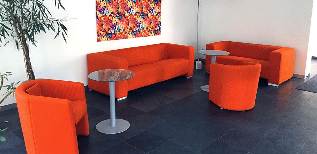 Loungebereich bei pexopol