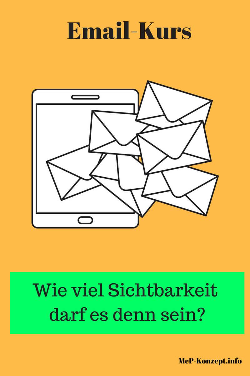 Startseite Emailkurs Sichtbarkeit 1