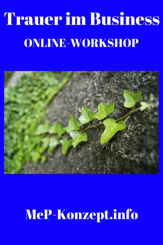 Online-Workshop Trauer im Business, MeP-Konzept im März 2019