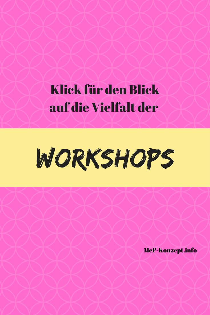 Auflistung der Workshops