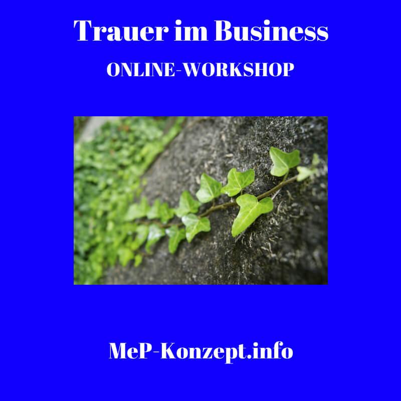 Workshop Trauer im Business, MeP-Konzept, Produktbild