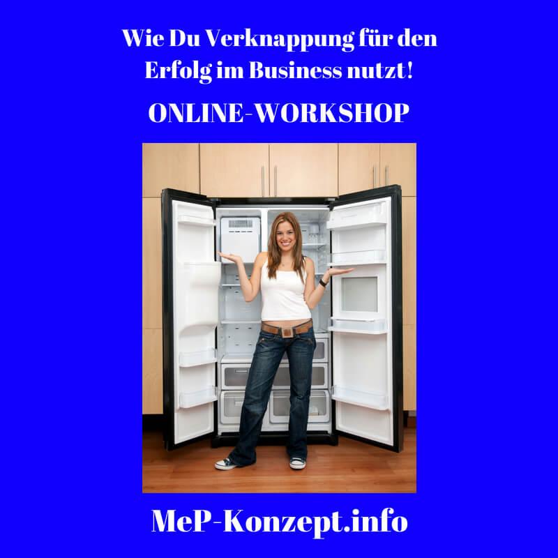 Workshop Verknappung für den Erfolg, MeP-Konzept, Produktbild