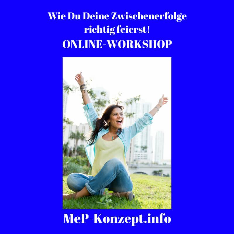 Workshop Zwischenerfolge richtig feiern, MeP-Konzept, Produktbild