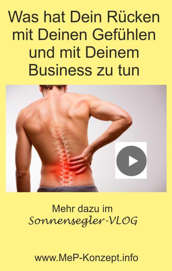 Was haben Rückenschmerzen mit Deinem Business zu tun