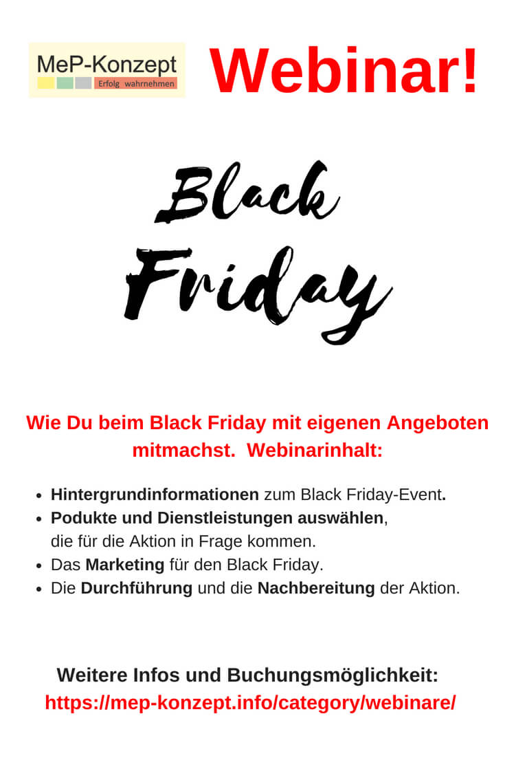 Black Friday – Strategie zur Neukundengewinnung