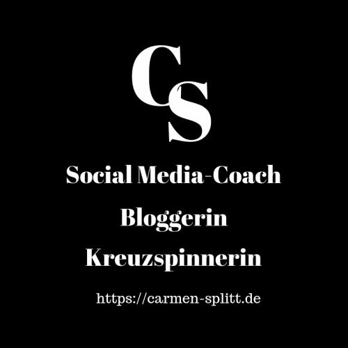 Logo von Carmen Splitt, Social Media-Coach, Bloggerin, Kreuzspinnerin