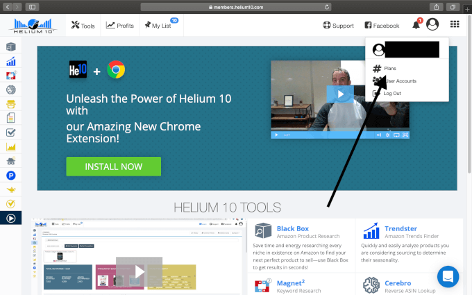 Activate Helium 10 Coupon