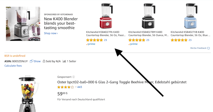 Amazon PPC Sponsored Products