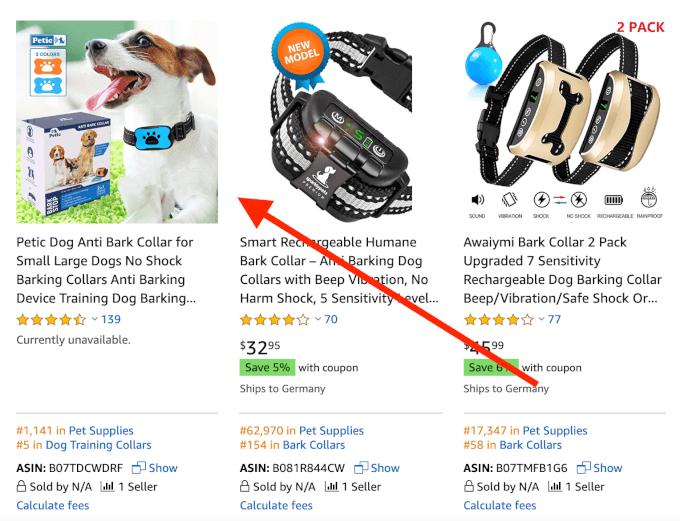Bad Amazon Listing