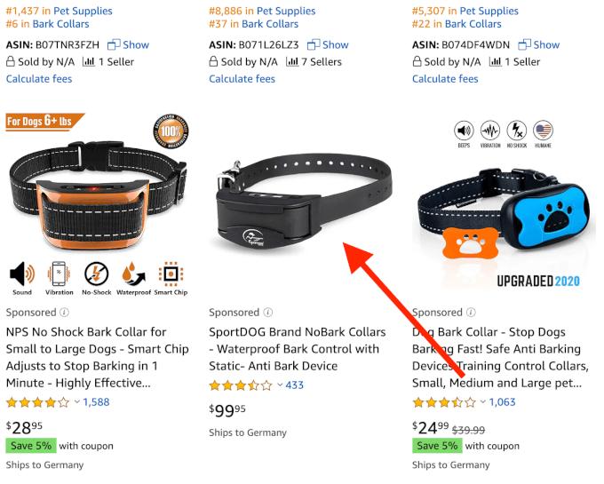 Good Amazon Listing