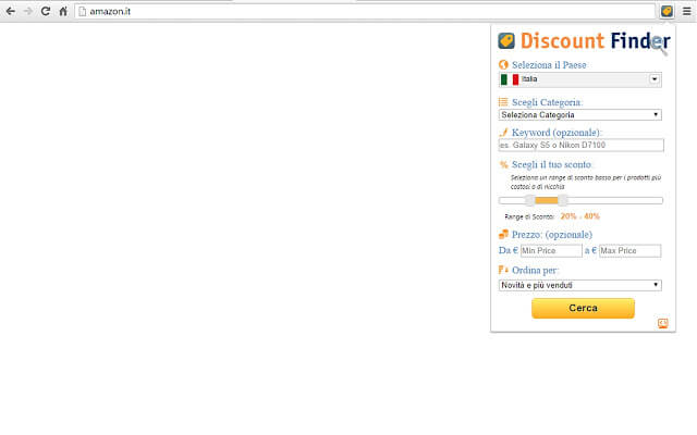 Amazon Discout Finder