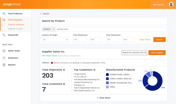 JS Supplier Database