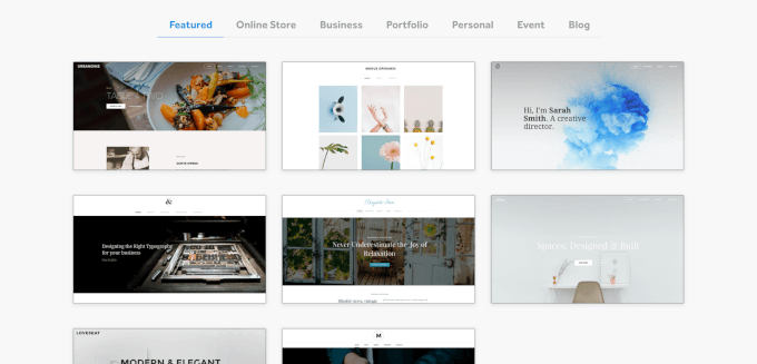 Weebly Templates