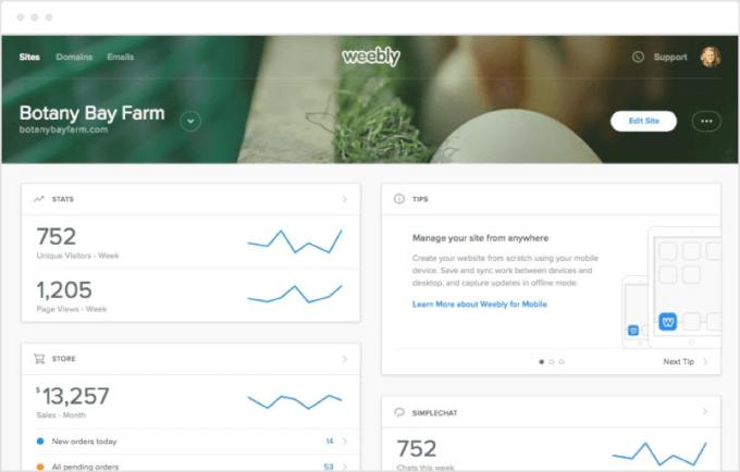 Weebly Analytics