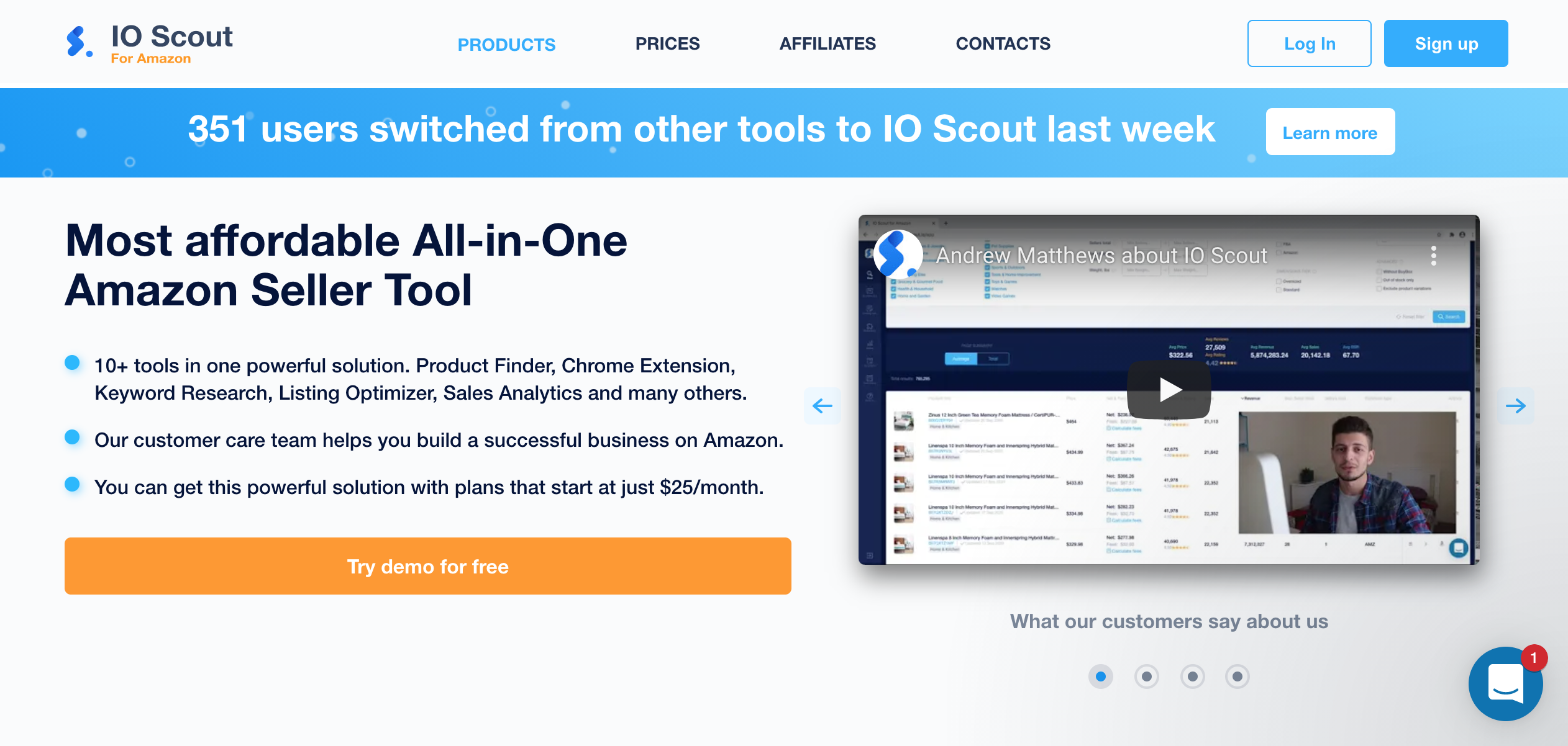 IO Scout Website