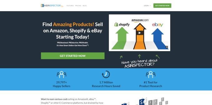ASINspector Website