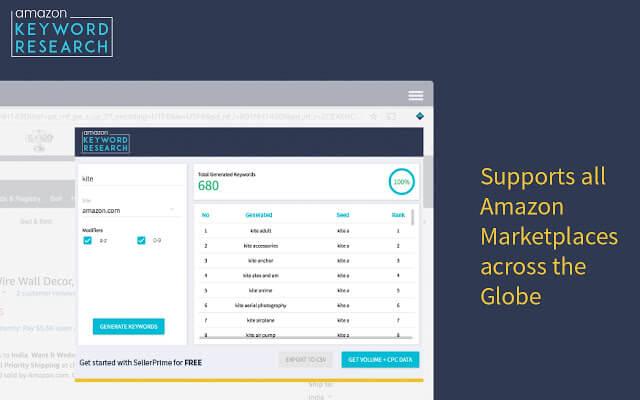 Amazon Keyword Tool by Seller App