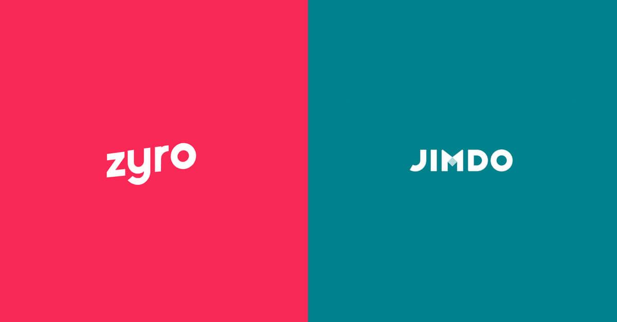 Zyro vs. Jimdo: Die zwei Website Baukästen im Vergleich