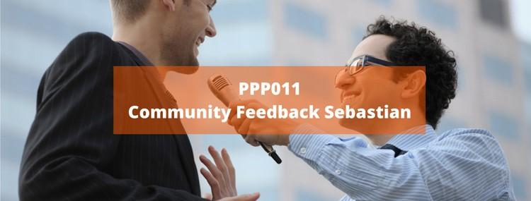 PPP011: Community Feedback von Sebastian