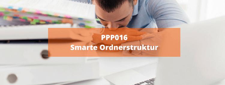 PPP016: Smarte Ordnerstruktur