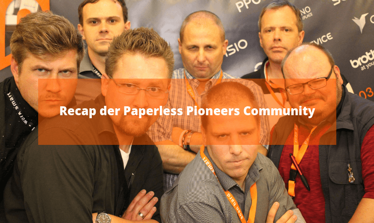 Recap der Paperless Pioneers Community