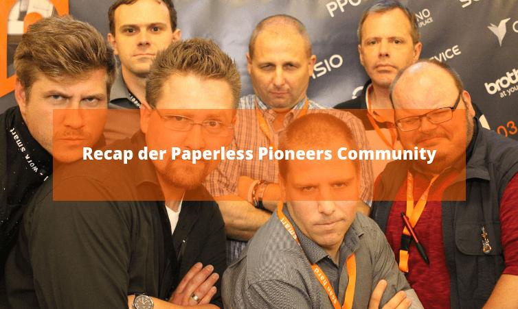 Recap der Paperless Pioneers Community