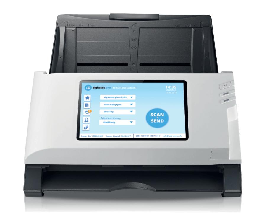 Scanner für den Kunden