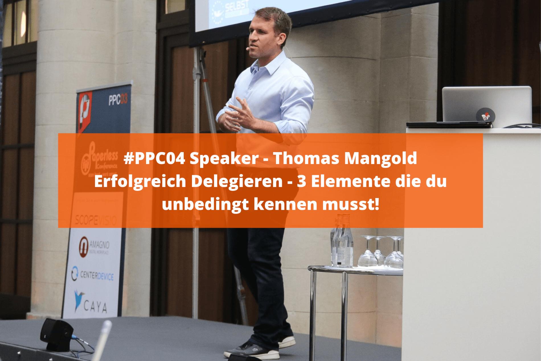 Erfolgreich Delegieren - 3 Elemente die du unbedingt kennen musst! - Interview mit Thomas Mangold