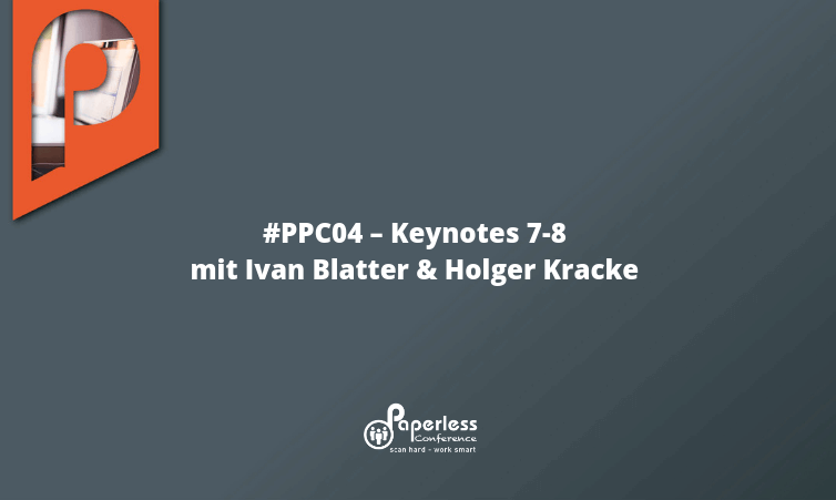 PPC04 – Keynotes 7-8 mit Ivan Blatter, Holger Kracke und Recap des Tages