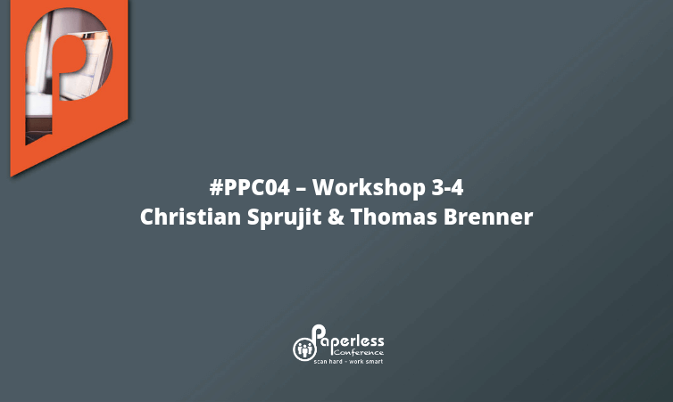 PPC04 – Workshop 3-4 mit Christian Sprujit und Thomas Brenner