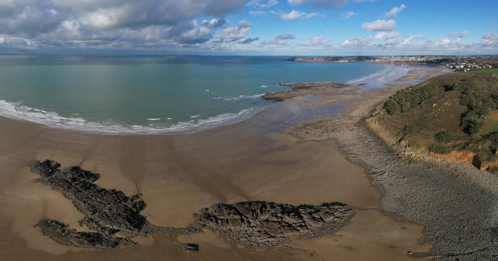 Bretagne für Anfänger 2019 11 Saint Pabu Panorama 21