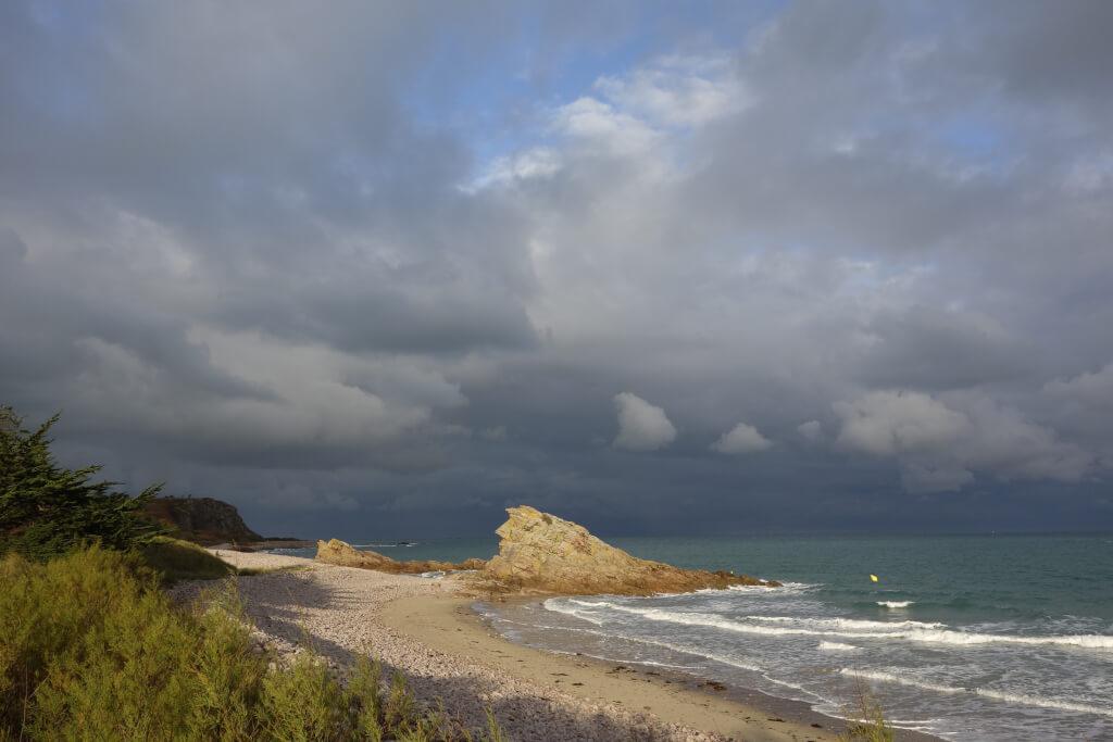 Wetter in der Bretagne  DSC4118