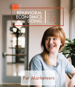 Behavior Economics Doing for Marketeers