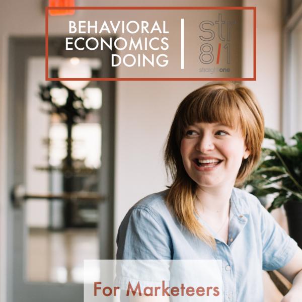 Behavior Economics Doing for Marketeers