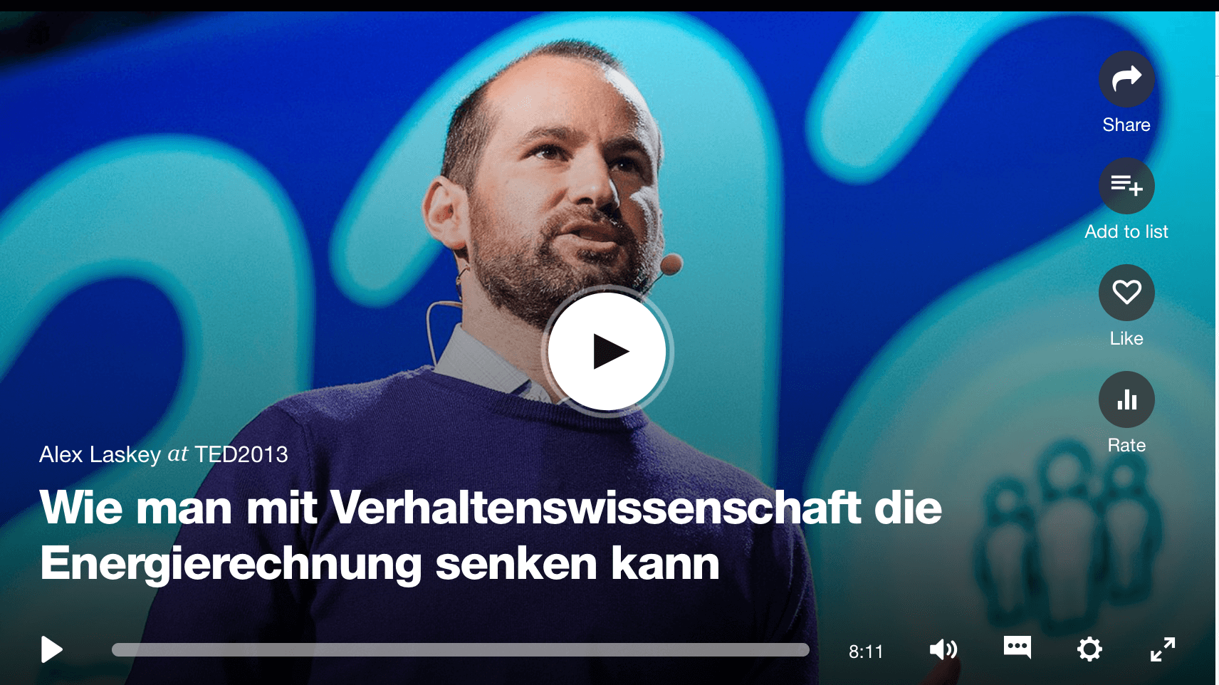 Stromsparen mit Behavioral Economics.