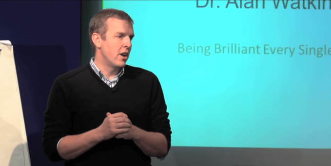 Alan Watkins (Part 1) - How to be brilliant everyday