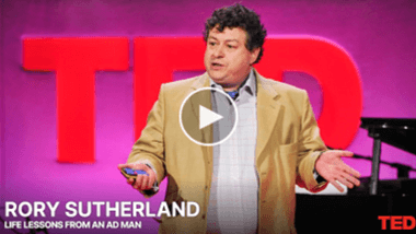 Rory Sutherland: Life lessons from an Ad Man