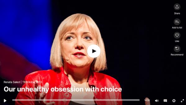 Ist es wirklich immer gut für uns eine Wahl zu haben?