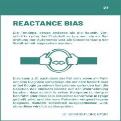 Health Verhaltensmuster: Der Reactance Effekt