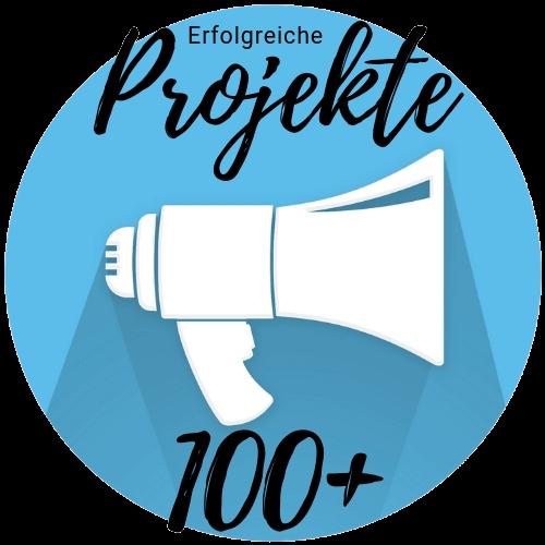 Über 100 erfolgreiche Projekte