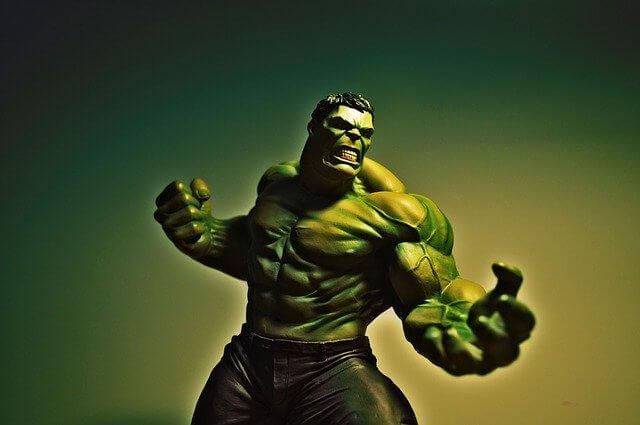 Hulk Comicfigur Illustration